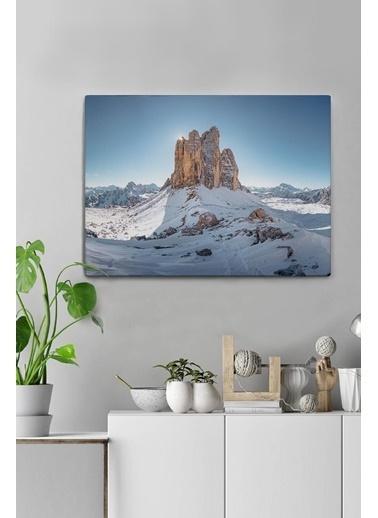 MarkaEv Canvas Kış Manzara Tablo 0070 Renkli
